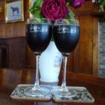 Living Legends wine glasses